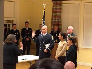 New Lieutenant Duffy Sasser.